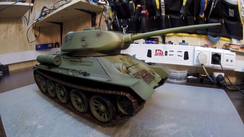Heng Long Russia T34 85 Pro