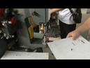 Lever arch files making machine (Ring binder finger hole file Fingering Eyelets riveting machine