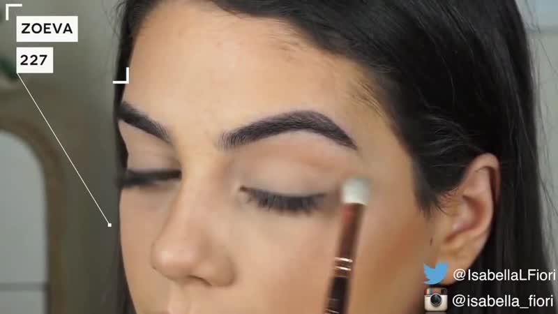 Эффектный макияж для брюнеток в стиле Кайли Дженнер 1