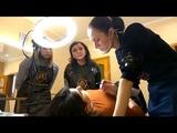 PROMO. Basic course on the Permanent makeup by Kosolapova Nadejda. St. Natasha &amp Oksana. 2 lesson.