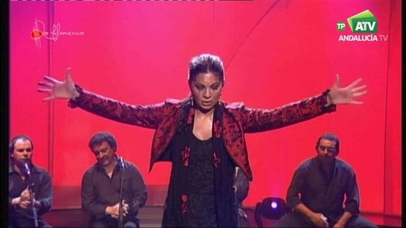 Baila Juana Amaya Soleá y bulerías y su cuadro Flamenco