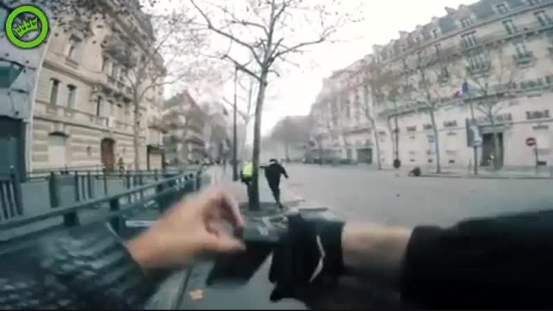 Полиция во Франции как-бы мягко намекает, что снимать не стоит
