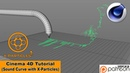 Sound Curve with X Particles Cinema 4D Tutorial