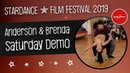 Anderson Brenda - Zouk Saturday Classes Demo / StarDance Film Festival / BreStarDance club