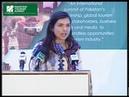 Eva zu Beck, Polish Travel Vlogger at Pakistan Tourism Summit