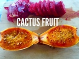 HOW TO EAT AND OPEN CACTUS FRUIT PRICKLY PEARS AND IT