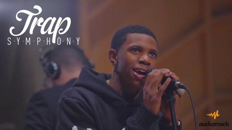 A Boogie Performs Drowning w/ a Live Orchestra | Audiomack Trap Symphony