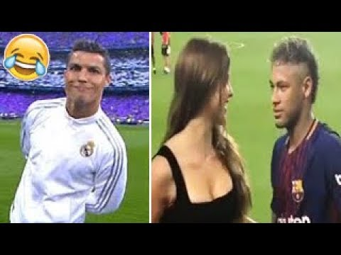 Futbolistas Famosos Momentos mas Divertidos ● Football Players Funny Moments 2018