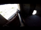 Сирия GoPro от польского добровольца снайпера охотится на боевиков ИГИЛ в битве за Ракку