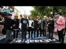 2018_09_08💎EP198💎1 홍대 버스킹 AF SHOW! 남자 아이돌 디크런치(D-Crunch) 난입! (춤추는곰돌_AF STARZ)