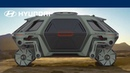 Elevate концепт =шагающего= автомобиля от Hyundai который выводит на новый уровень понятие колеса