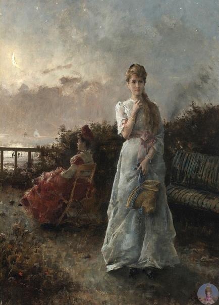Χудoжник Αlfrеd Stеvеns (1823-1906)