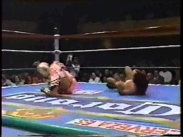 Chris Jericho Ultimo Dragon vs Negro Casas El Dandy CMLL 1995 Part 1