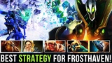 NEW FROSTHAVEN FROSTIVUS RECORD !! 3948 FASTEST TIME TO BEAT FINAL BOSS - BEST STRATEGY Dota 2