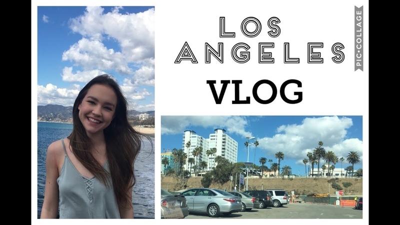 LA Vlog 2 | meetings the Santa Monica Pier
