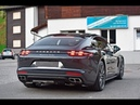 All New Porsche Panamera Turbo spotted Sound and in Detail