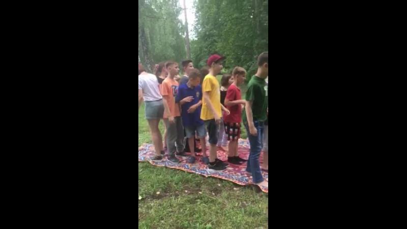 Детский лингвистический лагерь.Набережные Челны. 301 отряд.