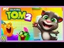 Новый Говорящий Том My Talking Tom 2 Примеряем Одежду Том Супергерой Виртуальный Питомец
