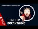 Гены или воспитание Системно векторная психология Юрий Бурлан