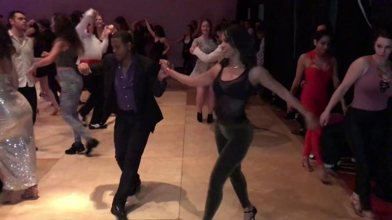 JORGE LUIS INDIRA MORA SALSA CUBANA DANCE AT RENO LATIN DANCE FEST 2019