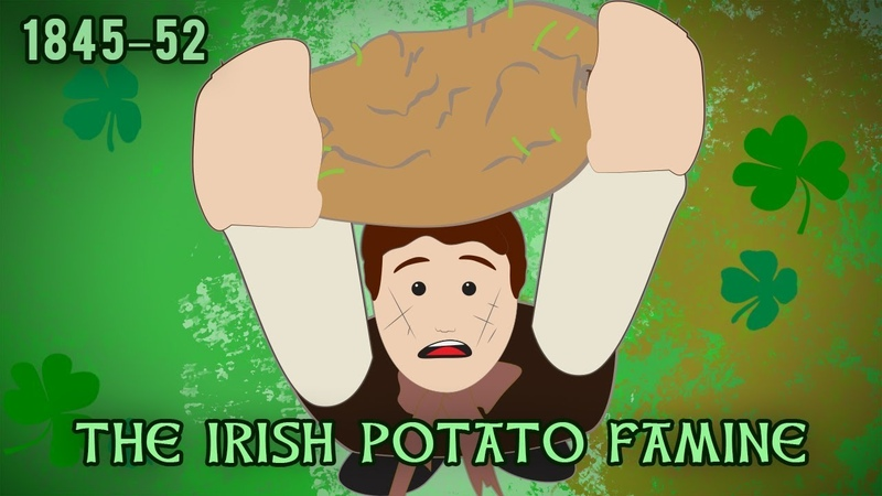 The Irish Potato Famine (1845–1852)