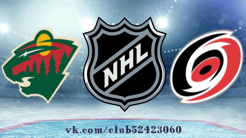 Minnesota Wild vs Carolina Hurricanes 23 03 2019 NHL Regular Season 2018 2019