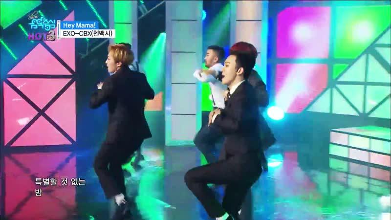 181113 EXO выступление с дебюта до TEMPO на Music Core