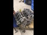 Замена блока двигателя Lexus ES после гидроудара