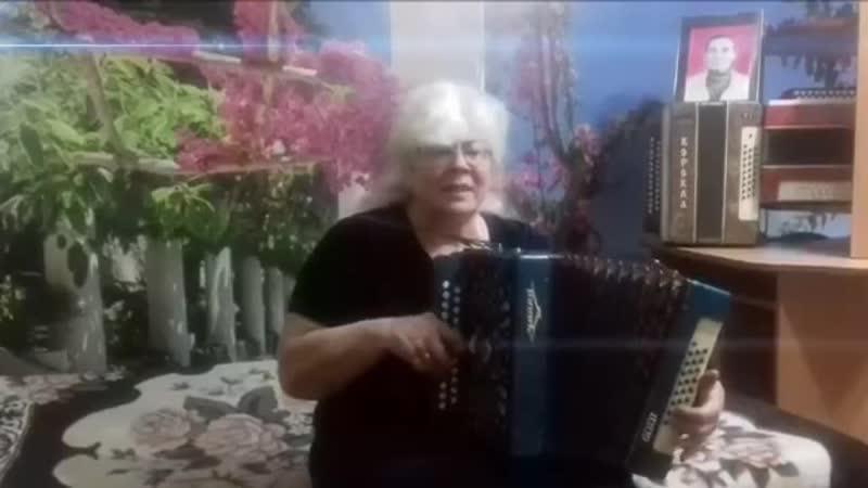 Туманы, туманы, верните мне маму ❤Душевная песня о МАМЕ╰❥ song on the accordion (1)