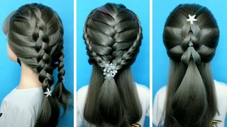 26 Braided Back To School HEATLESS Hairstyles! 🌺 Best Hairstyles for Girls #1