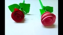 How To Make Easy Stick Paper Flower Crafts - Paper Flower Making Step By Step By Mimu Craft