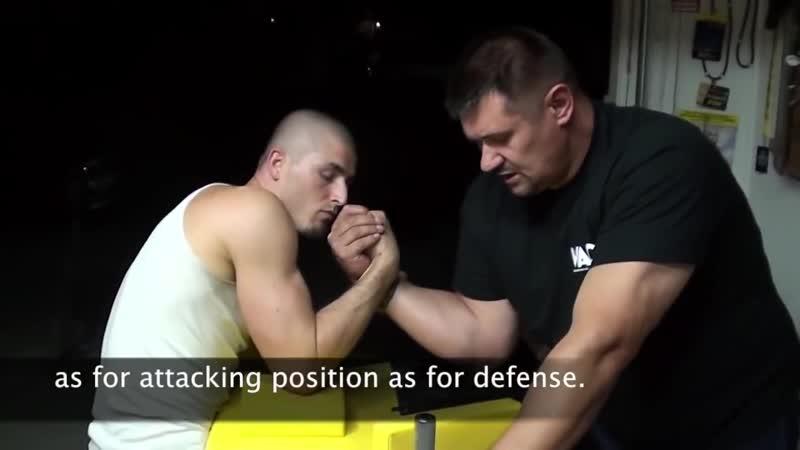 [Igor Mazurenko] How to win in Arm wrestling. Tips from the Champ.