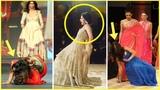 OMG Top 10 Bollywood Stars Falling in Public Bollywood stars falling down on the ramp#Top-10-List