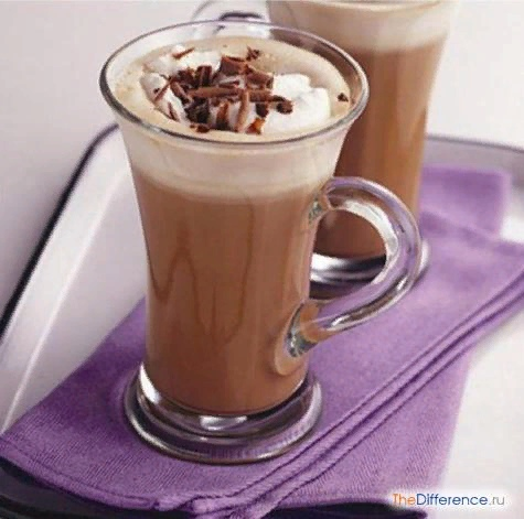 Разница между моккачино и капучино Многие люди не представляют своего утра без чашечки ароматного согревающего напитка. Но если на приготовление одного сорта кофе уходят буквально считанные