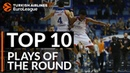 Top 10 Plays Turkish Airlines EuroLeague Regular Season Round 3