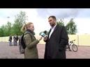 Общественники с мэром Высокинским обходят сквер.