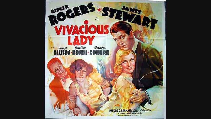 Vivacious Lady (1938) Ginger Rogers, James Stewart, James Ellison