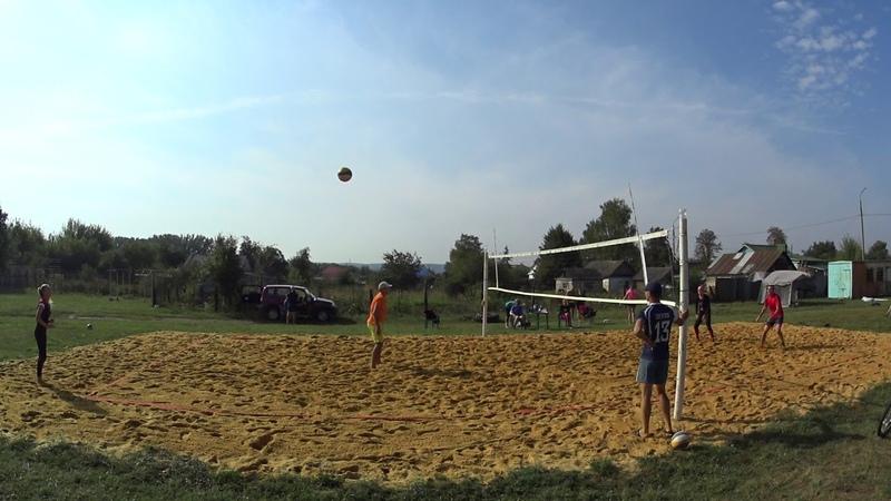 Пляжный волейбол - закрытие сезона микст Новосиль 2018/09/15