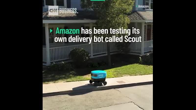 Форд, Амазон, ФедЭкс разрабатывают роботов для доставки посылок. Жалкие лузеры. Русский ро