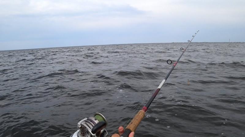 Рыбалка с РИБа Ловля Судака с Лодки на Водохранилище Якорная лебедка Sea-Pro 45