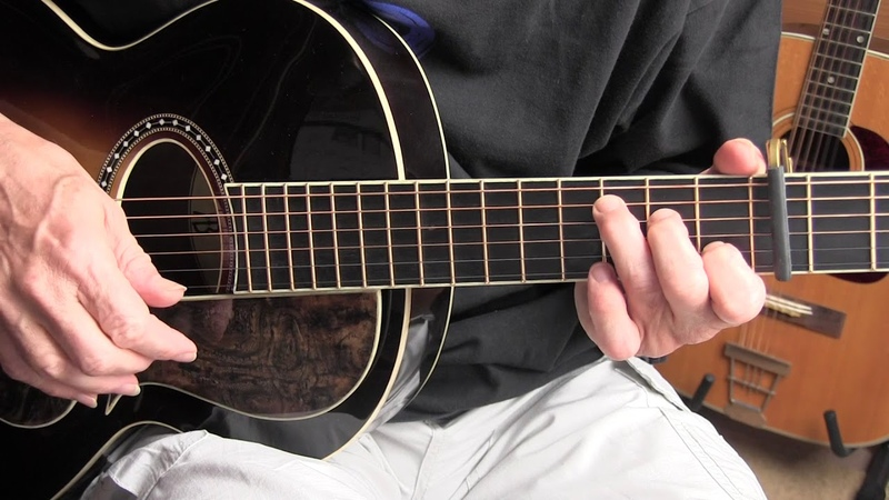 Fingerpicking Lesson - Bull Doze Blues/Going Up The Country - Free TAB