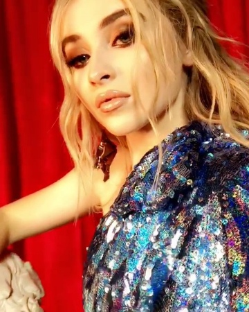 """Sabrina Carpenter on Instagram: """"thank u for the incredibly kind words on almostlove and welcoming dis song w open arms and booty pops. I love y'a..."""