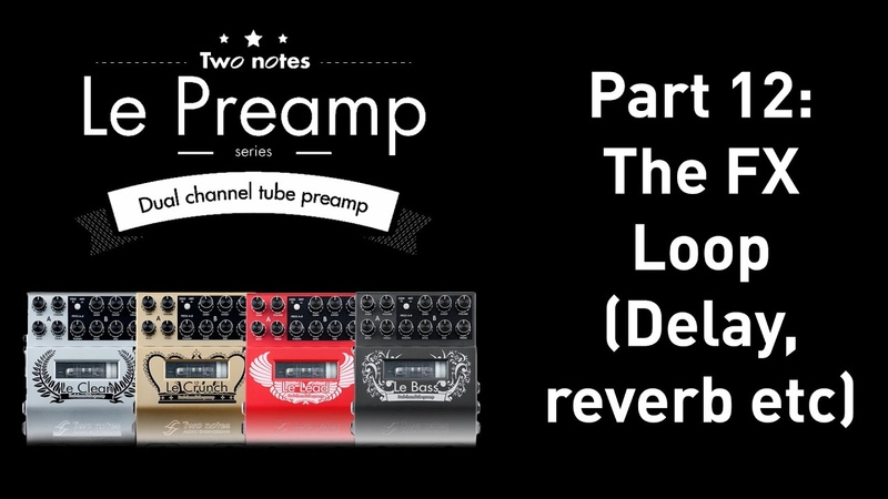 Using delay and reverb pedals with a preamp pedal.