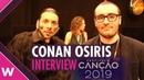 Conan Osíris - Telemóveis (INTERVIEW) @ Festival da Canção | wiwibloggs