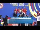 Награждение, чемпионат России 2019г. по боевому самбо(отбор на чемпионаты Мира и Европы)