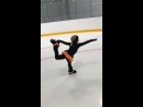 Девочки Двойняшки занимаются второй год, очень способные и весёлые! Сегодня были на льду первый раз после большого перерыва, но