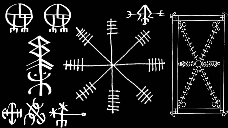 Icelandic Magical Staves - Workings and Usage