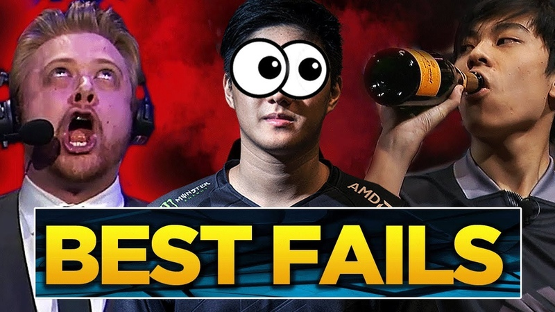 The BEST Fails and FUNNIEST Momments of The International 2018 (Dota 2)
