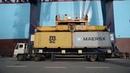 Maersk Line 2015 East West Network Munkebo Maersk in Dalian China