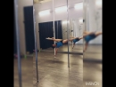 Poledance связка со шпагатом Чебы (Cheba split) Пилюгина Лили